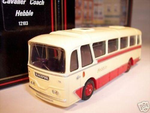 Preview of the first image of SCALE MODEL BUS: HEBBLE AEC RELIANCE COACH.