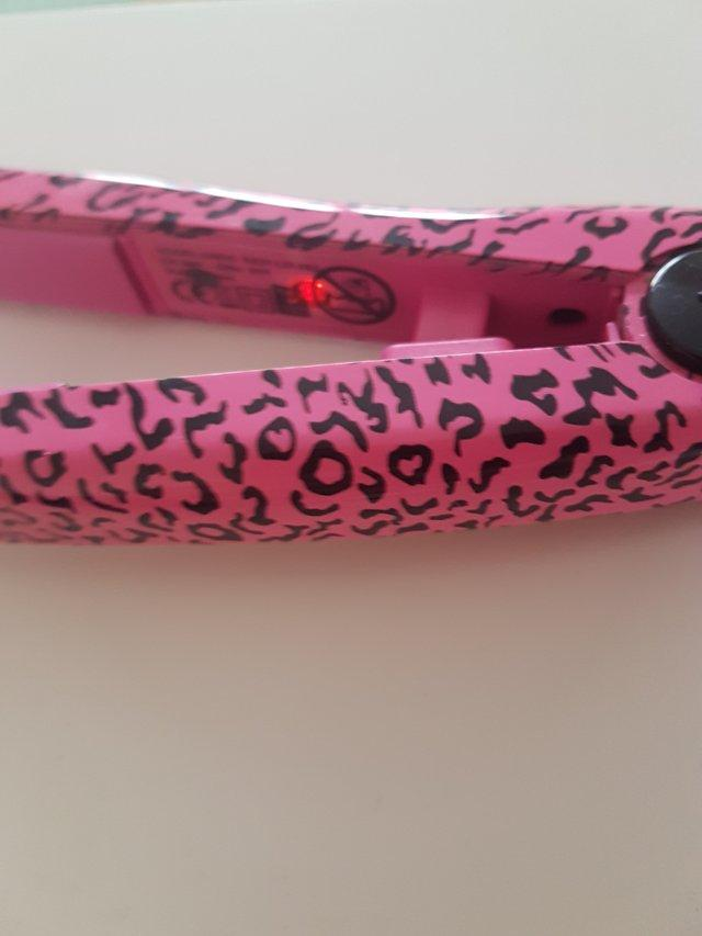 Image 3 of Pink Hair Straighteners Travel Sized
