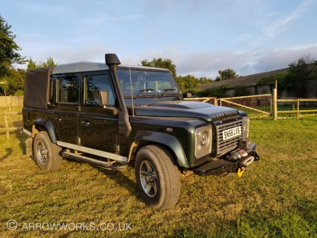Preview of the first image of Land Rover Defender 110 Double Cab Pickup 2.4 Diesel.