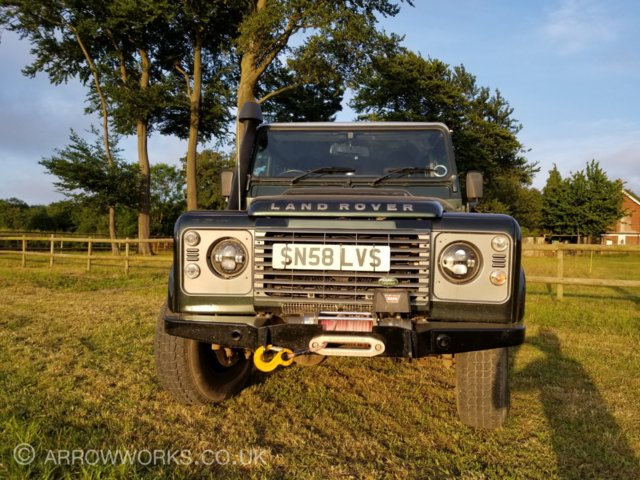 Image 3 of Land Rover Defender 110 Double Cab Pickup 2.4 Diesel