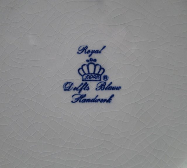 Image 3 of Royal Delfts Blauw Wall plate (Incl P&P)