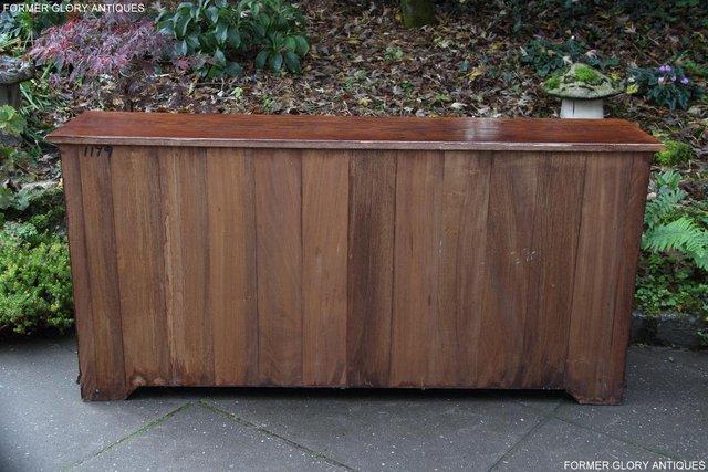 Image 11 of TITCHMARSH & GOODWIN STYLE OAK DRESSER BASE SIDEBOARD TABLE