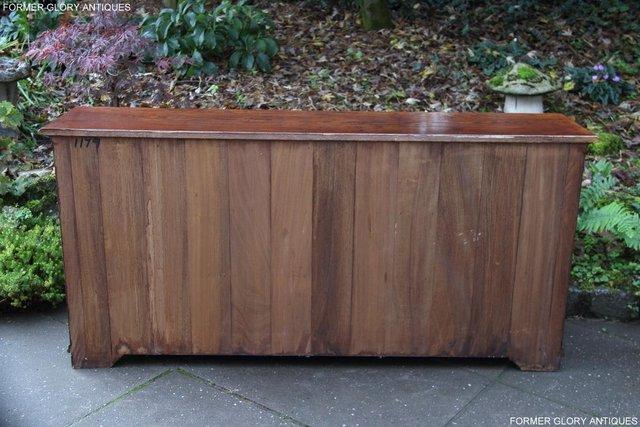 Image 18 of TITCHMARSH & GOODWIN STYLE OAK DRESSER BASE SIDEBOARD TABLE