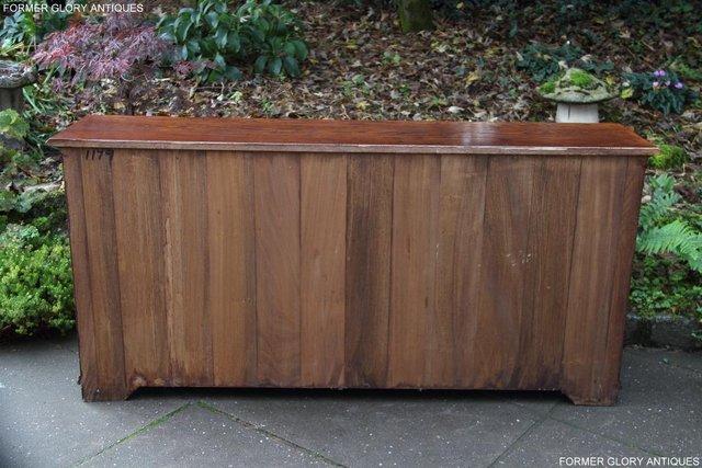Image 38 of TITCHMARSH & GOODWIN STYLE OAK DRESSER BASE SIDEBOARD TABLE