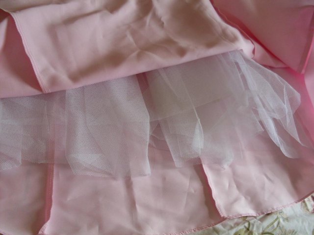 Image 3 of PINK EVENING GOWN/DRESS BY POLKA (USA) SIZE 12-14 ,NEW ITEM
