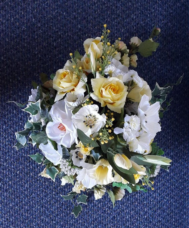 Preview of the first image of Silk Flower arrangement.