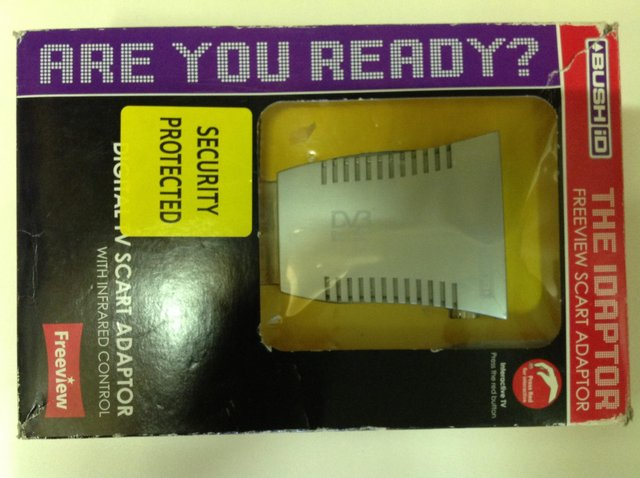 Preview of the first image of Bush Freeview Adaptor.