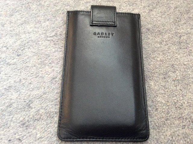 Image 2 of Radley leather phone case