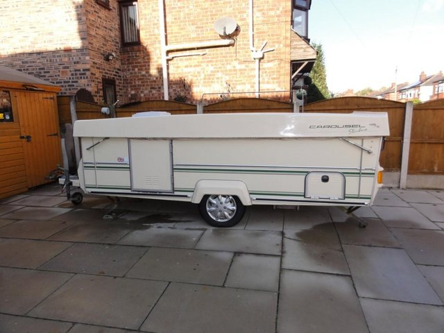 Preview of the first image of Wanted Gobur Esteral Rapido Folding/Pop Top Caravan.