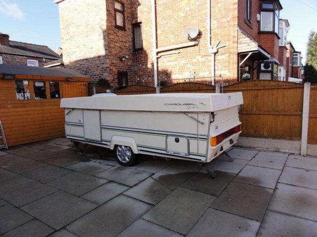 Image 2 of Wanted Gobur Esteral Rapido Folding/Pop Top Caravan