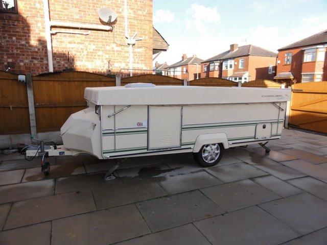 Image 3 of Wanted Gobur Esteral Rapido Folding/Pop Top Caravan