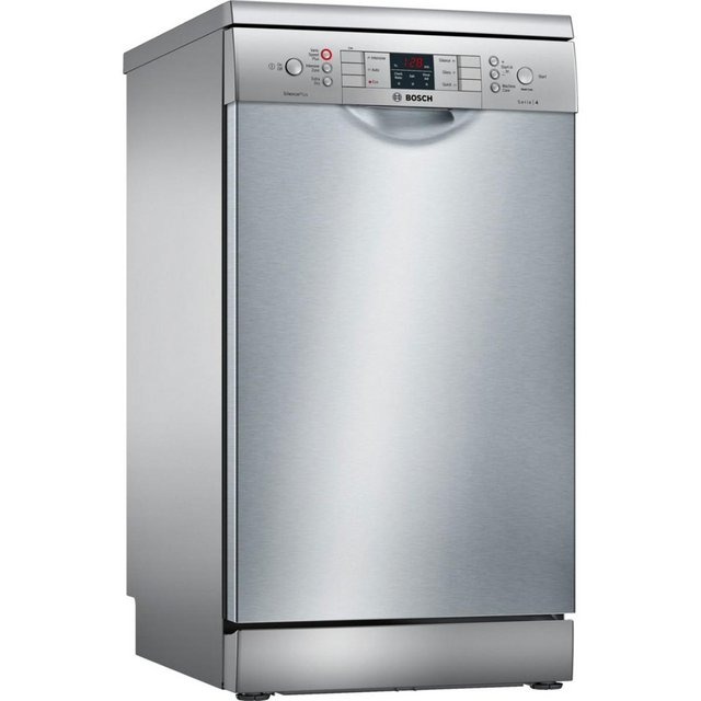 Preview of the first image of BOSCH SERIE 4-9 PLACE SLIMLINE DISHWASHER-A+-SILVER-TOP SPEC.