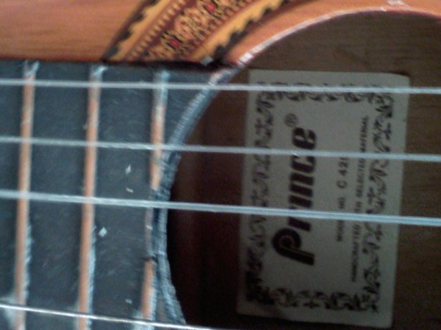 Image 3 of Prince quality Acustic Guitar ,only got 5 strings