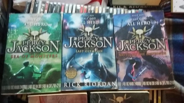 Preview of the first image of Rick Riordan - Percy Jackson Paperback Book.
