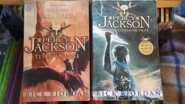 Image 2 of Rick Riordan - Percy Jackson Paperback Book