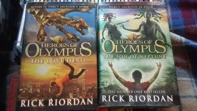 Image 2 of Heroes of Olympus: The Lost Hero & The Son of Neptune