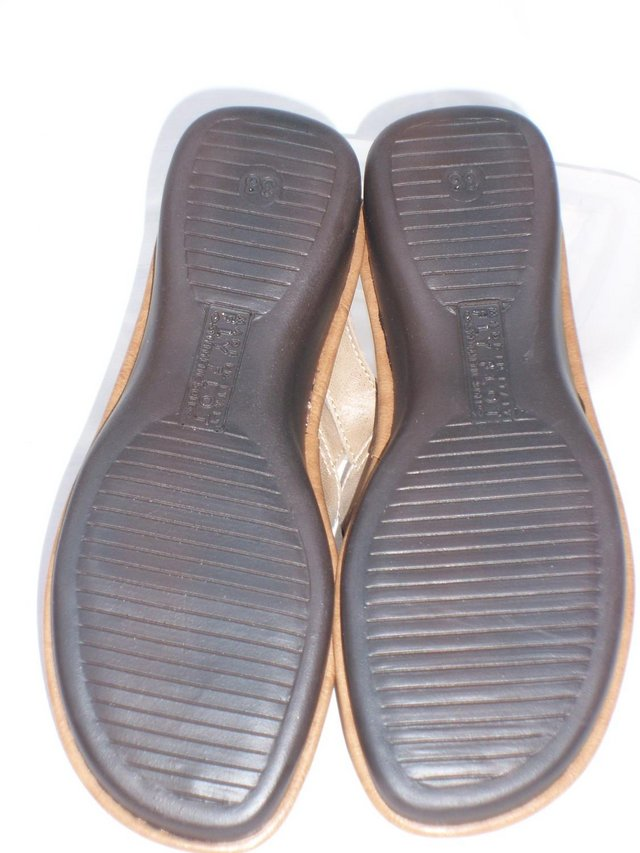 Image 5 of PAVERS FLY FLOT Leather Sandal Shoes – Size 5/38 NEW