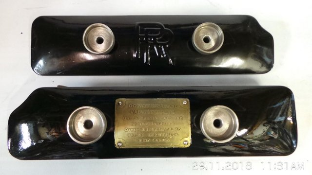 Preview of the first image of Rolls Royce vintage parts.