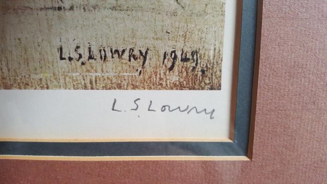 Image 2 of L S LOWRY SIGNED LIMITED EDITION PRINT 'THE CONTRAPTION'