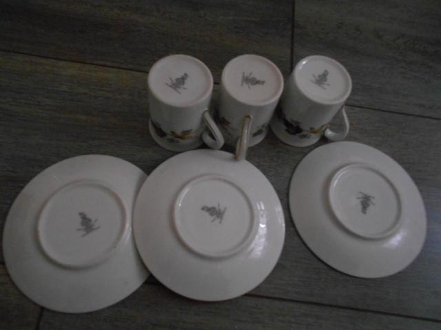 Image 2 of Royal Doulton Larchmont - Espresso Cups & Saucers x 3