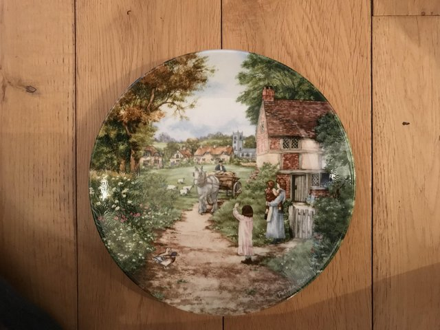 Preview of the first image of Collectible plates.