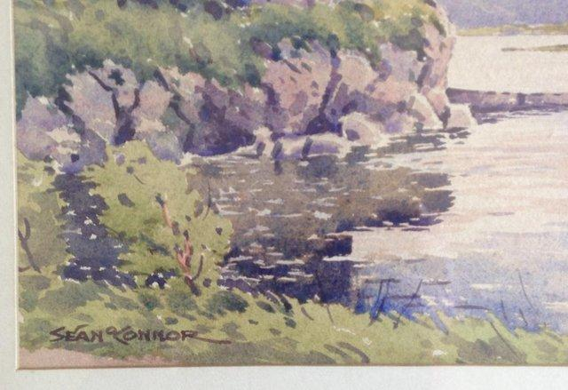 Preview of the first image of Sean O'Connor (Irish, 1909-1992) Watercolour, signed. Label.
