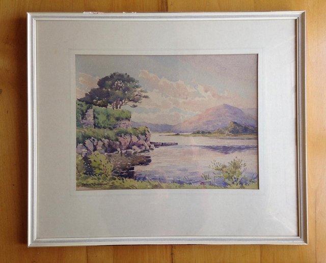 Image 3 of Sean O'Connor (Irish, 1909-1992) Watercolour, signed.