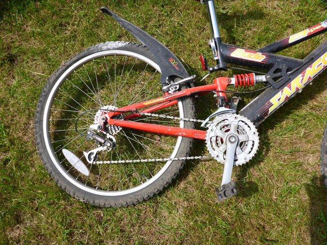 "Image 2 of Saracen Dude Mountain bike 14.25"" frame, wheel diam. is 20"""