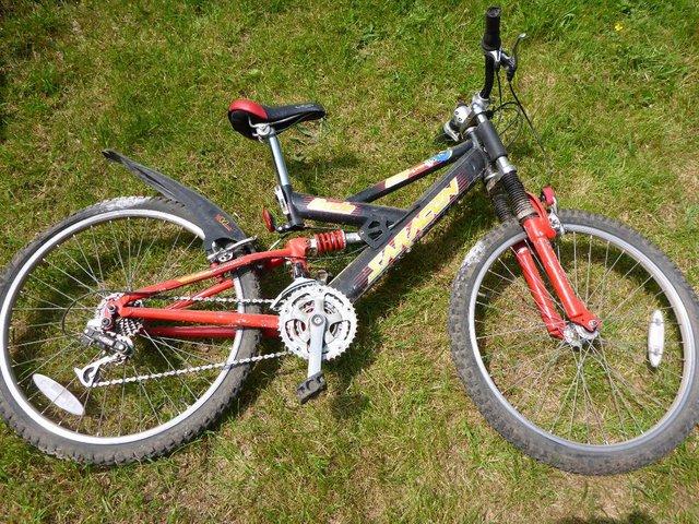 "Image 3 of Saracen Dude Mountain bike 14.25"" frame, wheel diam. is 20"""
