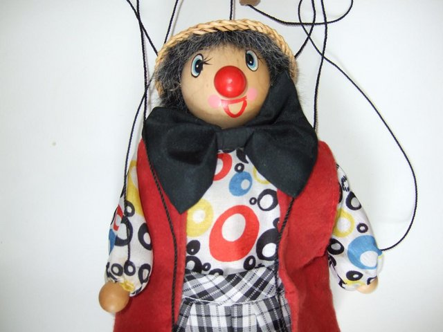 Image 2 of Traditional Pull String Puppet Marionett [Brand New]