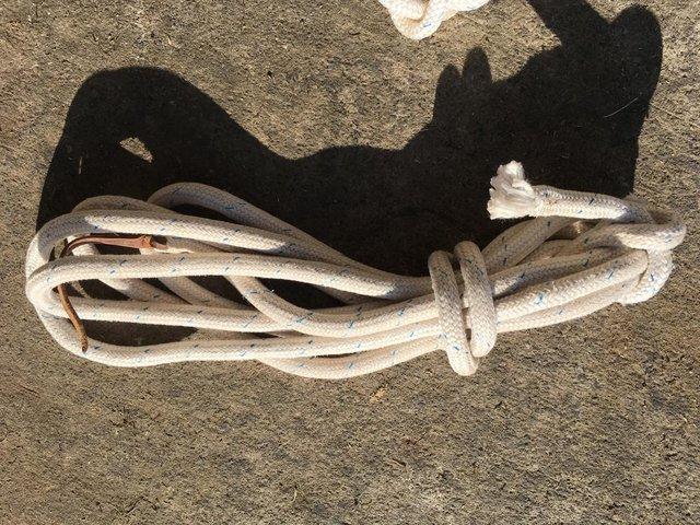 Used, Natural horsemanship horseman's / mecate reins for Parelli for sale  Selkirk