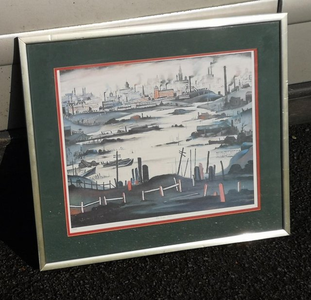 Image 2 of L.S.Lowry - The Lake 1937 Limited Edition Lithograph - Numbe