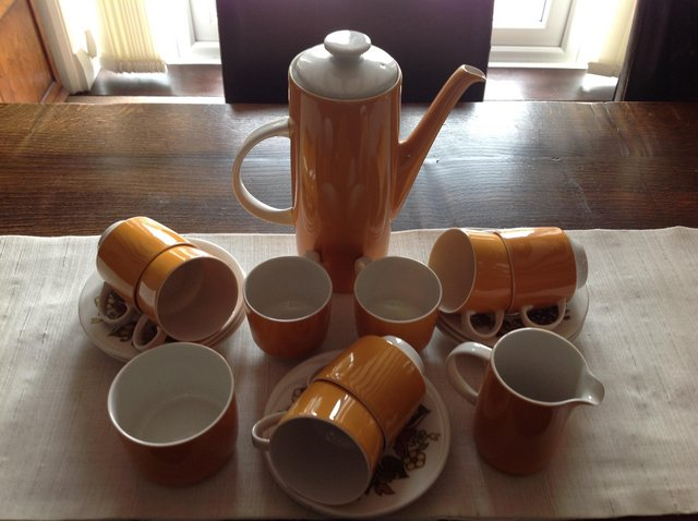 Preview of the first image of Royal Doulton Coffee Set.