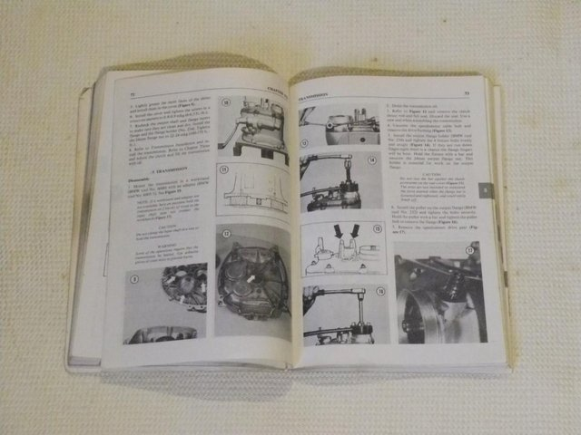 Image 2 of Rear BMW Manual air heads from 1970