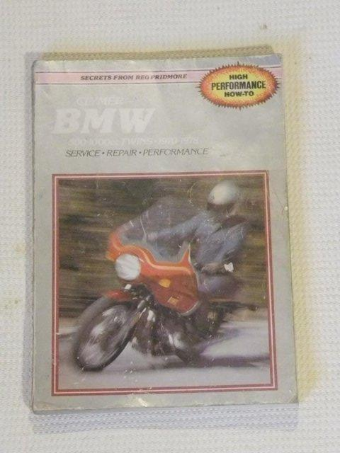 Preview of the first image of Clymer BMW air head Manual covers all models from 1970..
