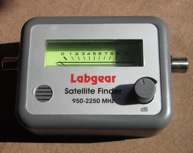 Preview of the first image of Labgear SLX satellite Finder (Incl P&P).