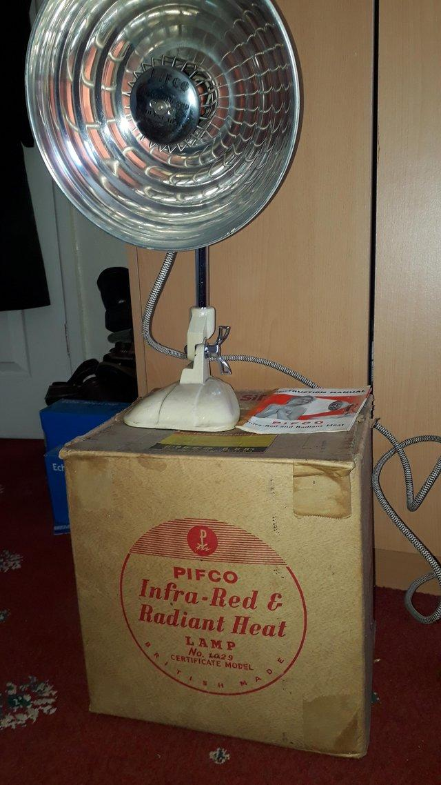Preview of the first image of Pifco Infra-Red & Radiant Heat Lamp.