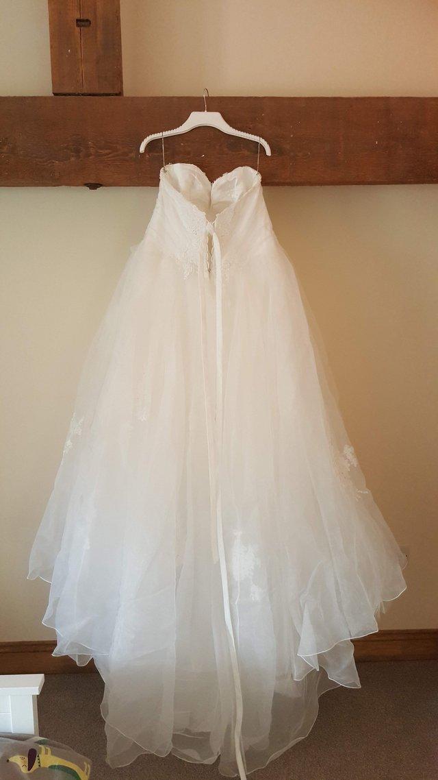 "fb5cd700601e Maggie Sottero Size 20 ""Hensley"" Diamond White Wedding Dress For ..."