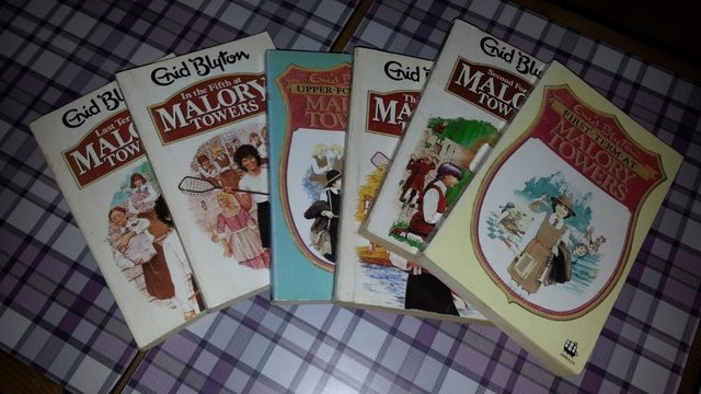 Malory towers book collection
