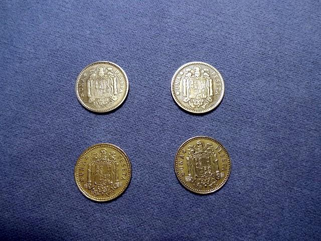 Preview of the first image of Old Spanish currency..