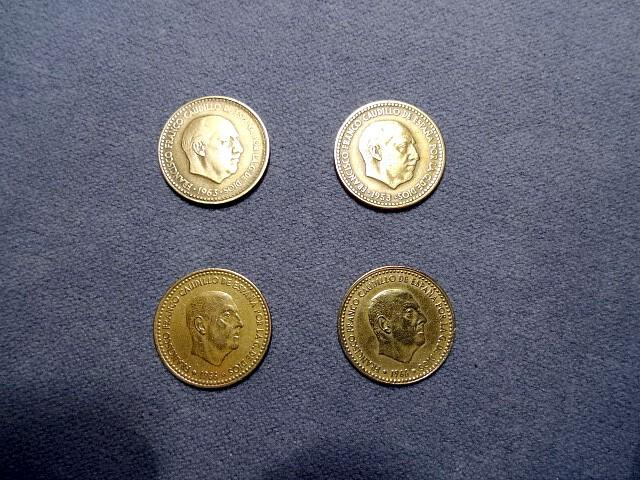 Image 2 of Old Spanish currency.