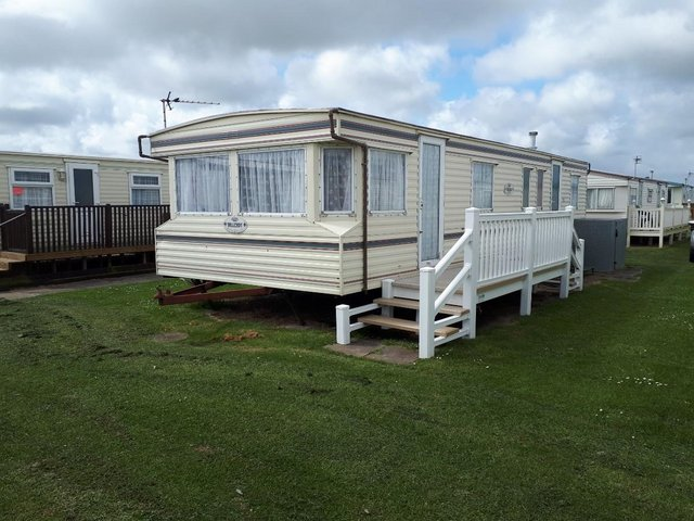 Preview of the first image of SIX BERTH CARAVAN FOR HIRE CHAPEL ST LEONARDS.