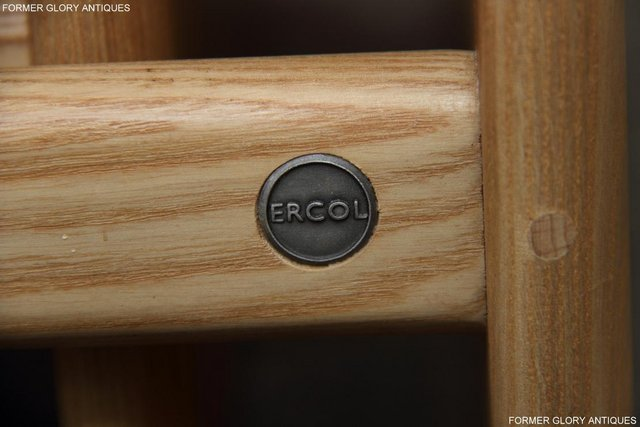 Image 46 of ERCOL WINDSOR ELM CLEAR FINISH NEST OF THREE COFFEE TABLES