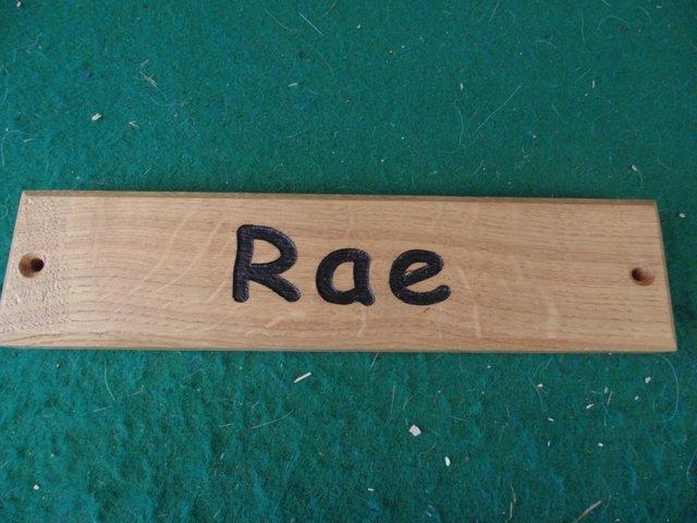 Image 9 of Animal name Plate  '' RIZ ''    P+P £3