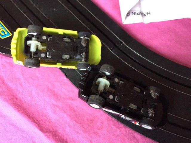 Image 4 of Pro Driver Micro Scalextric Set G1105 American Style Muscle
