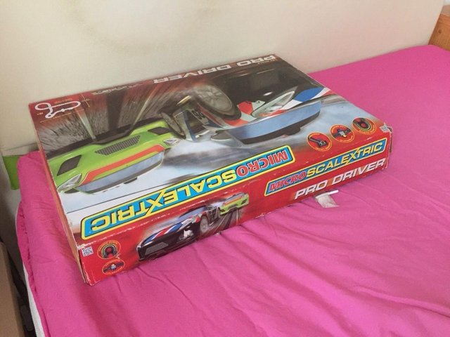 Image 8 of Pro Driver Micro Scalextric Set G1105 American Style Muscle