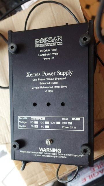 Image 3 of Roksan XPS Power Supply