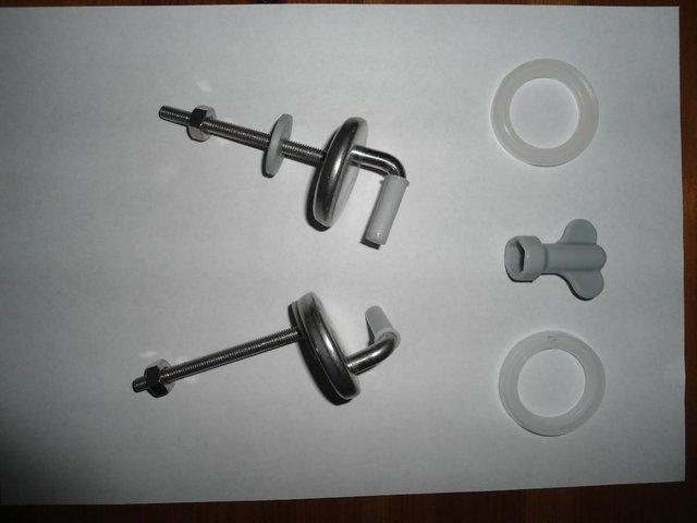 Image 2 of Toilet seat - unused brand new.