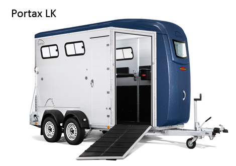 Preview of the first image of Bockmann Portax L K horse trailer.