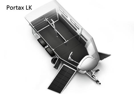 Image 2 of Bockmann Portax L K horse trailer